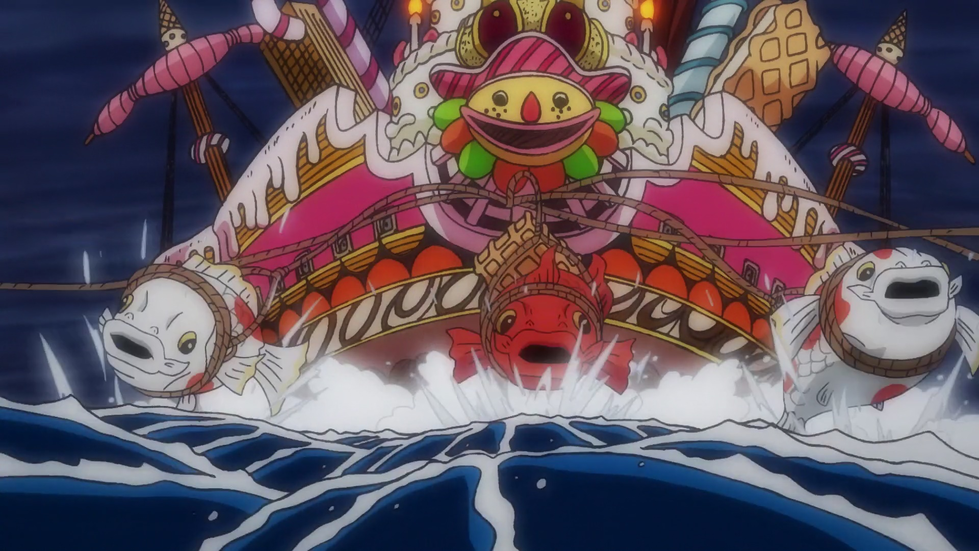 ONE PIECE 923 VOSTFR SD/HD/HD 10BITS/FHD News background