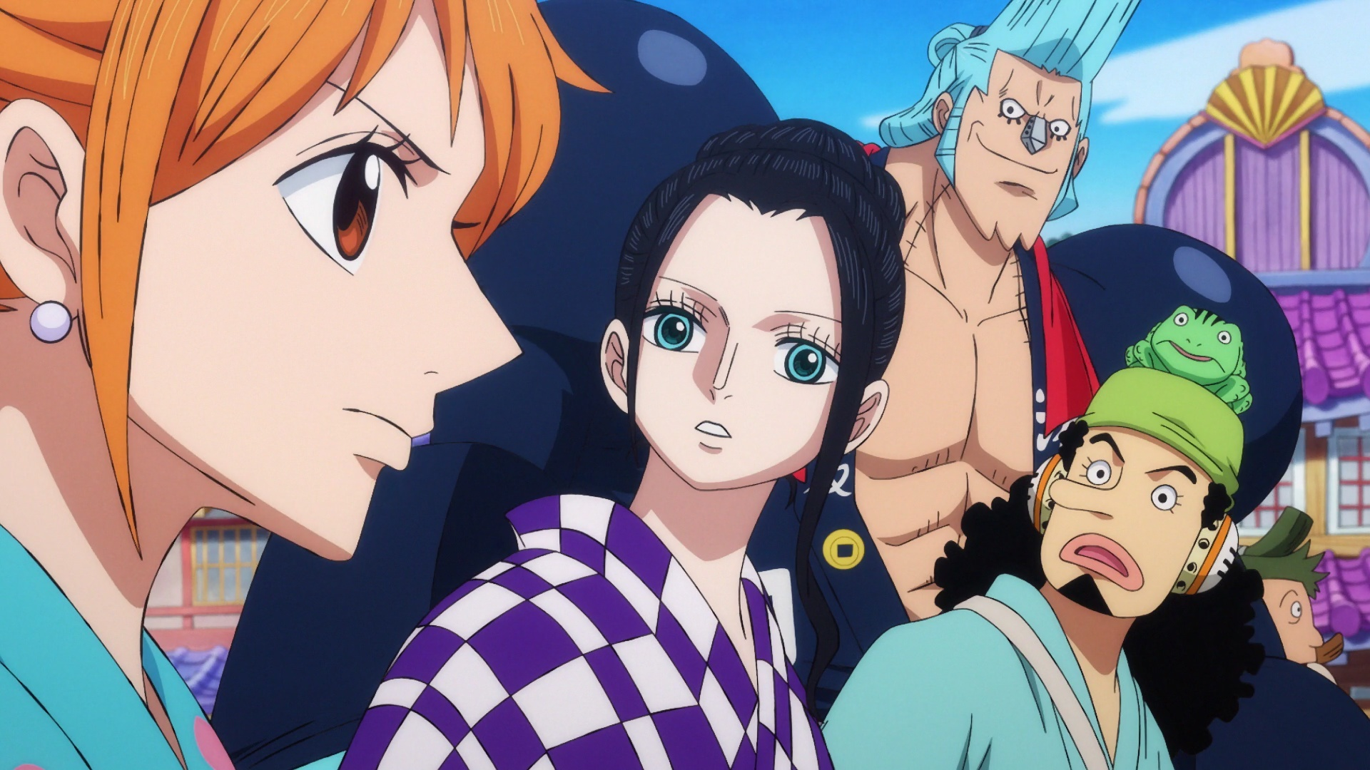 ONE PIECE 942 VOSTFR SD/HD/HD 10BITS/FHD News background