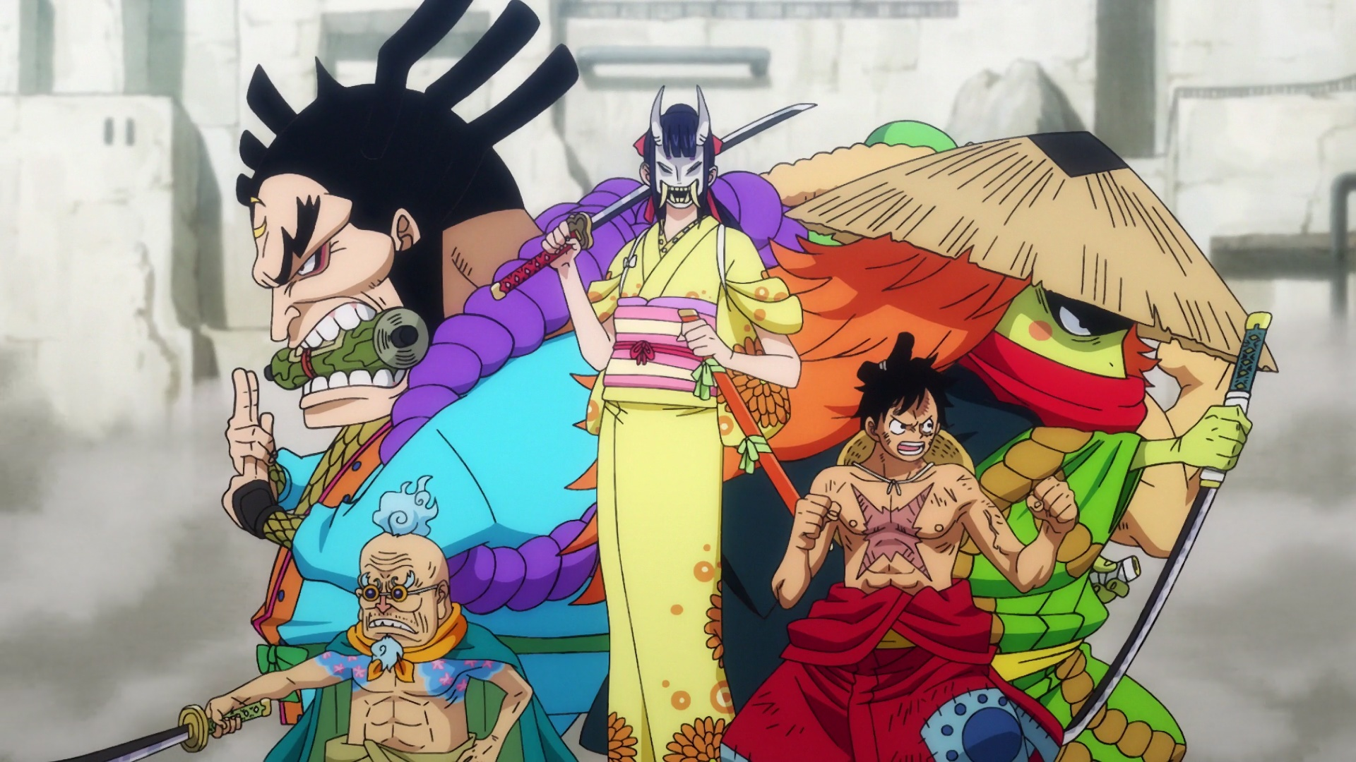 ONE PIECE 948 VOSTFR SD/HD/HD 10BITS/FHD News background