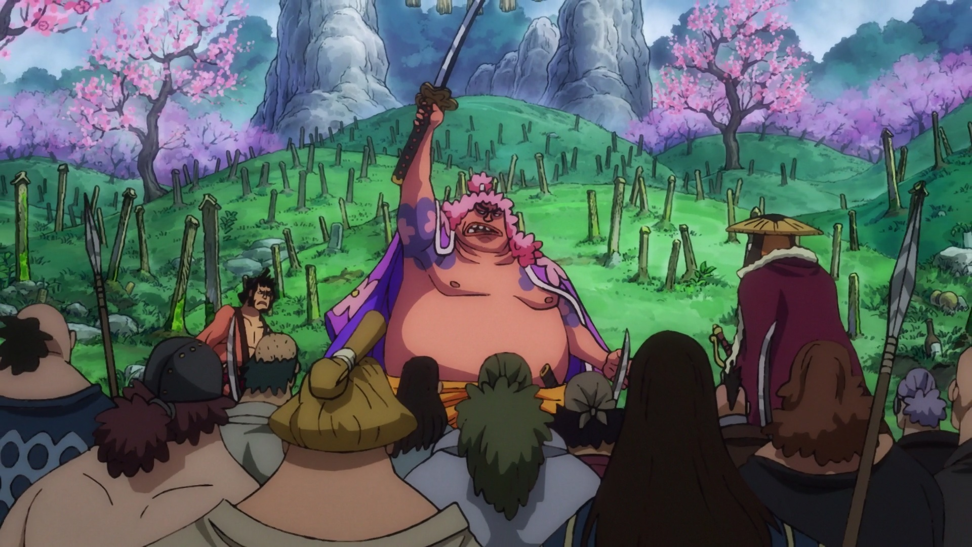 ONE PIECE 950 VOSTFR SD/HD/HD 10BITS/FHD News background