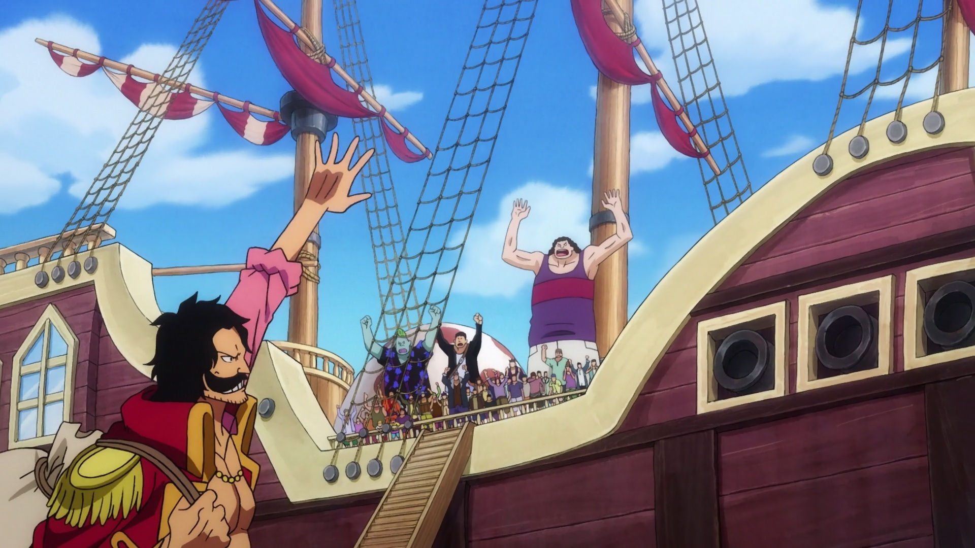 ONE PIECE 970 VOSTFR SD/HD/HD 10BITS/FHD News background