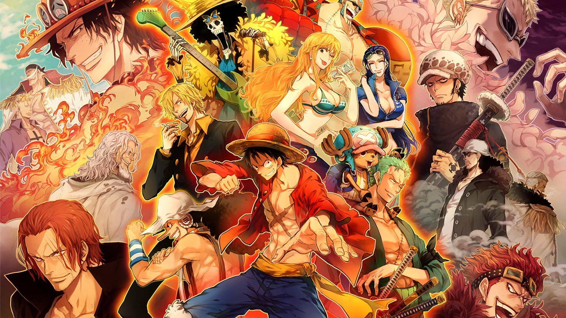 One-Piece Episode of Luffy : Hand Island Adventure News background