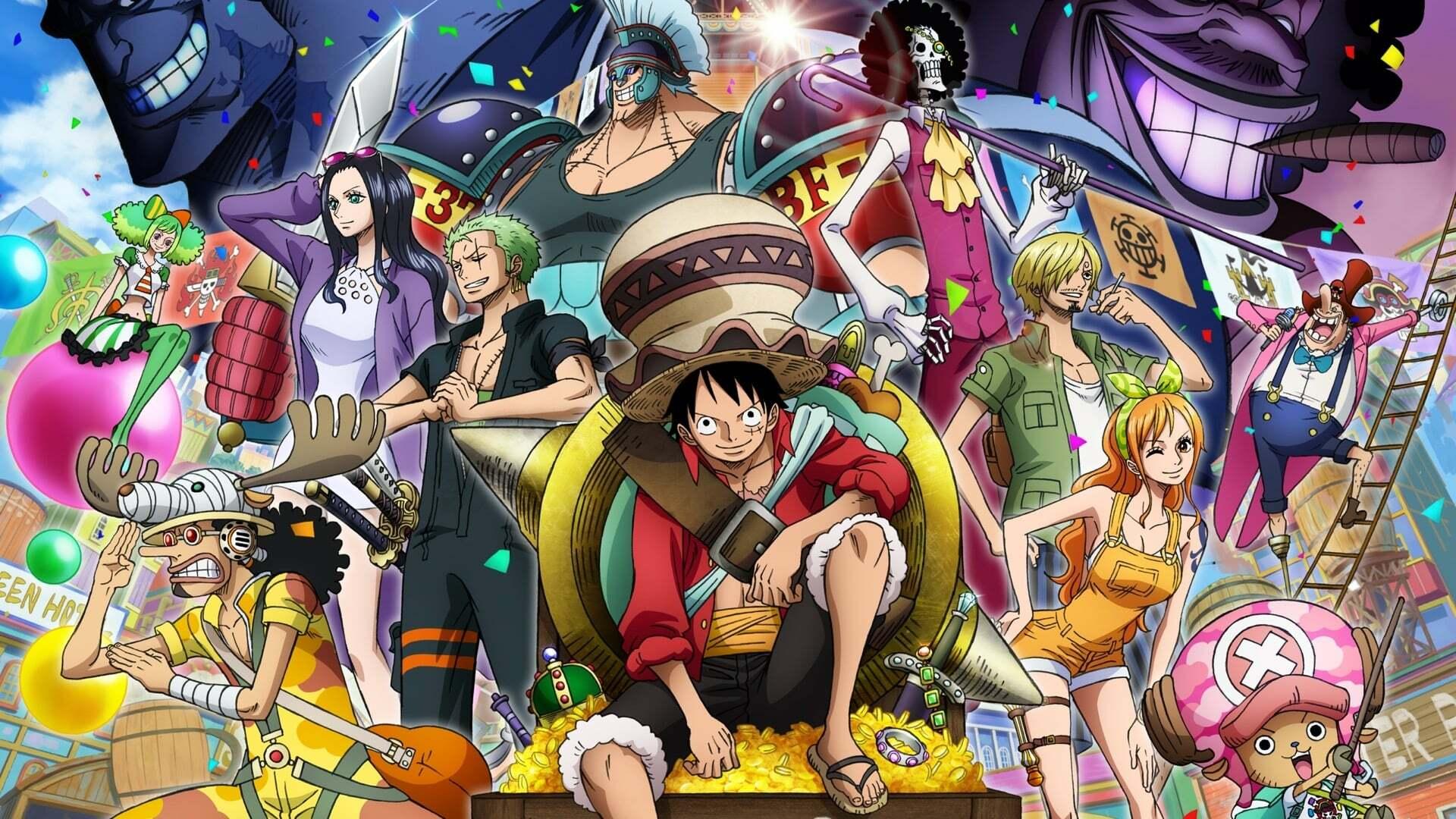 One-Piece Film 14 : Stampede VERSION LIGHT News background